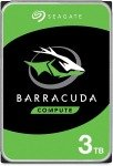 """Seagate BarraCuda 3TB Desktop Hard Drive 3.5"""" 5400RPM 256MB Cache"""