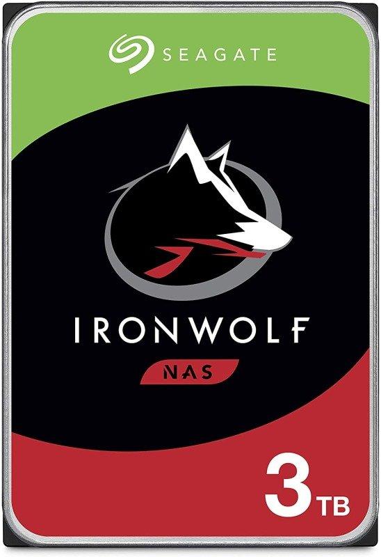 "Seagate IronWolf 3TB NAS Hard Drive 3.5"" 5900RPM 64MB Cache (CMR)"