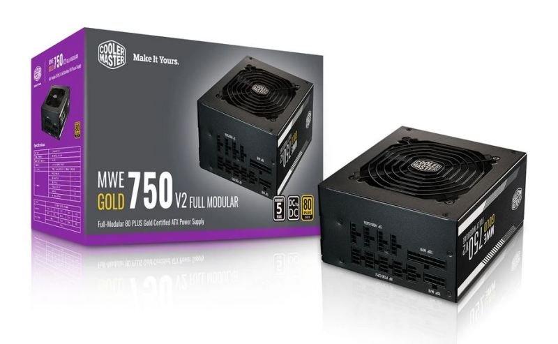 Cooler Master MWE 750W Gold Full Modular Power Supply
