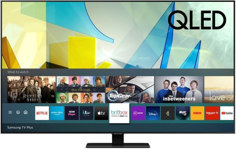 "Image of Samsung QE50Q80TAT 50"" QLED 4K Ultra HD HDR Smart TV"