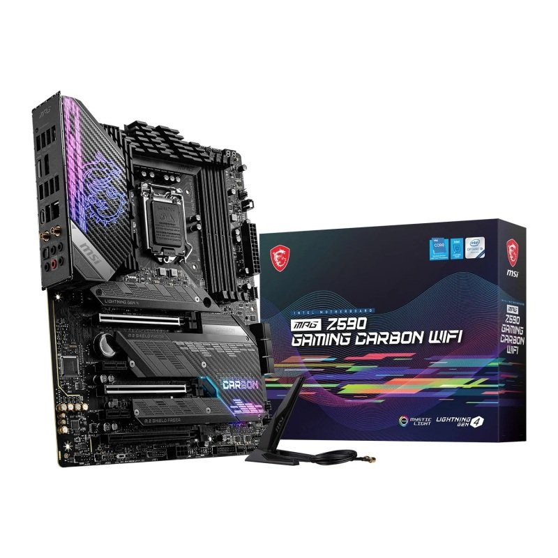 MSI MPG Z590 GAMING CARBON WIFI ATX Motherboard