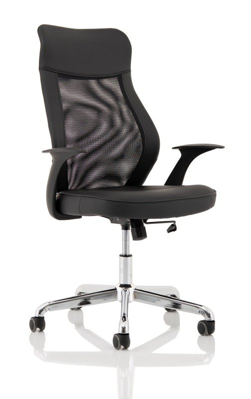 Baye Mesh and Leather Operator Chair