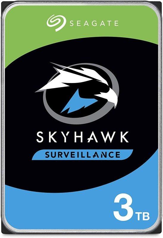 "Seagate SkyHawk 3TB Surveillance Hard Drive 3.5"" 5400RPM 256MB Cache"