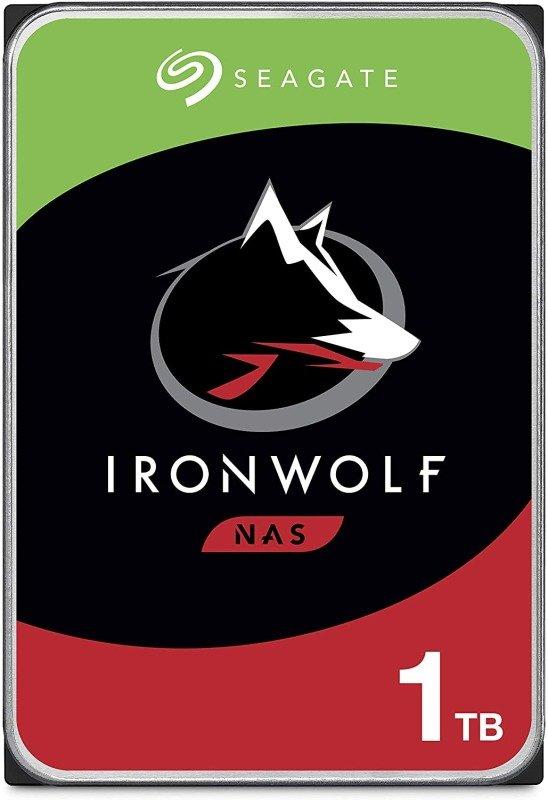 Seagate IronWolf 1TB NAS Hard Drive 3.5 SATA III 6GB's