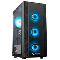 AlphaSync AMD Ryzen 5 8GB RAM 1TB HDD 480GB SSD GTX 1050Ti Gaming Desktop PC