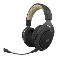 Refurbished by Corsair           HS70 Pro Stereo/7.1 Black/Cream Wireless Gaming Headset