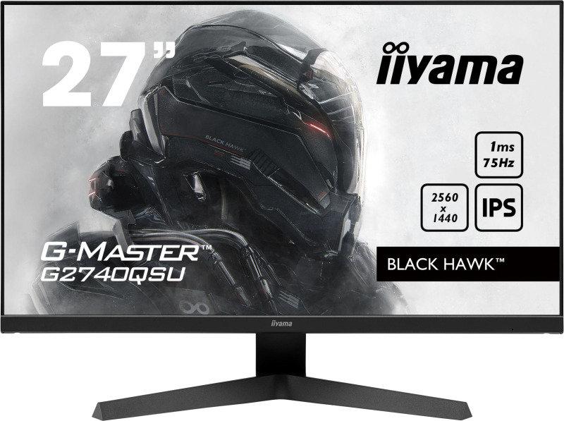 """Iiyama G2740QSU-B1 27"""" 2K WQHD IPS Gaming Monitor"""