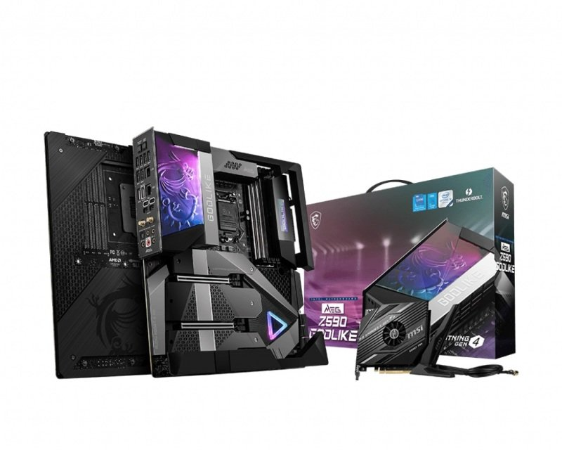 MSI MEG Z590 GODLIKE E-ATX Motherboard