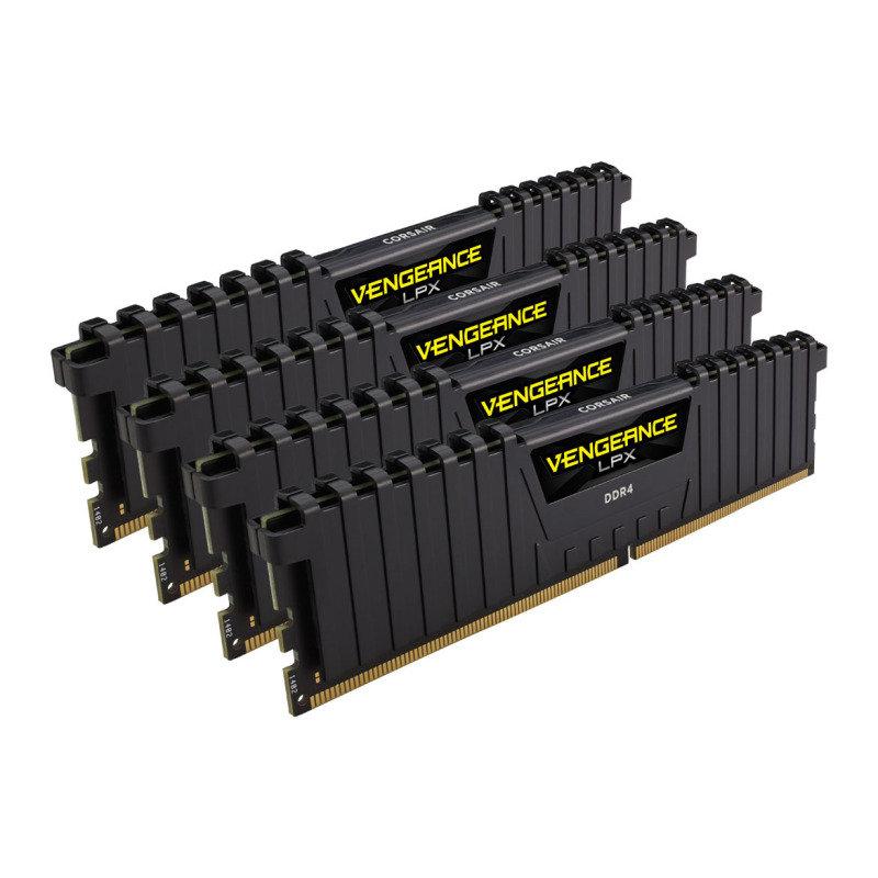 Corsair Vengeance LPX Black 64GB (4x16GB) 3600MHz DDR4 Memory Kit