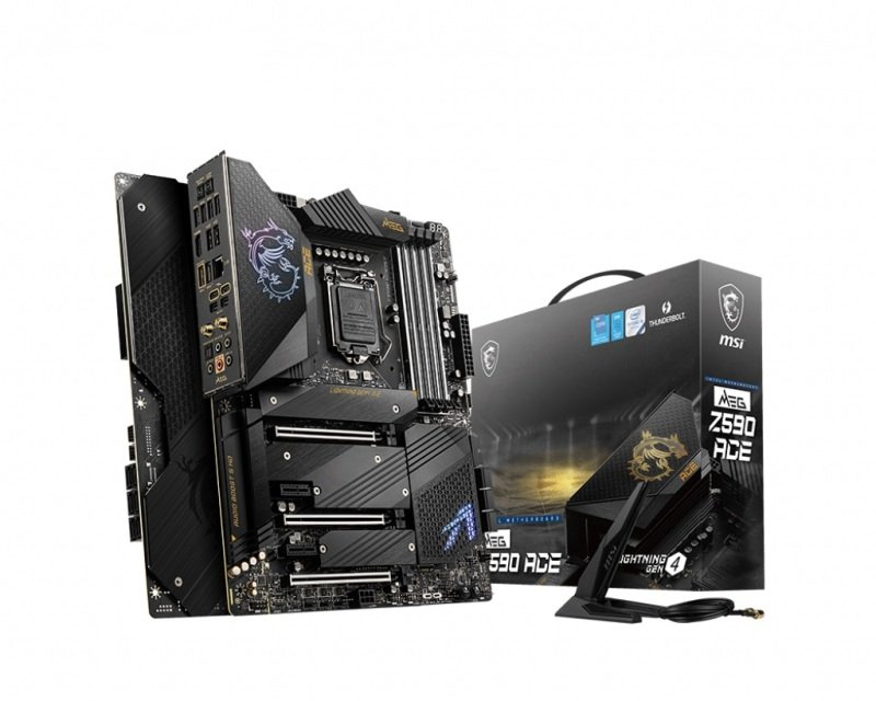 MSI MEG Z590 ACE ATX Motherboard