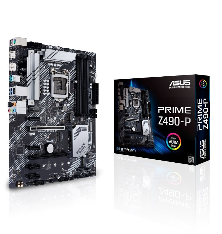 EXDISPLAY Asus PRIME Z490-P DDR4 ATX Motherboard