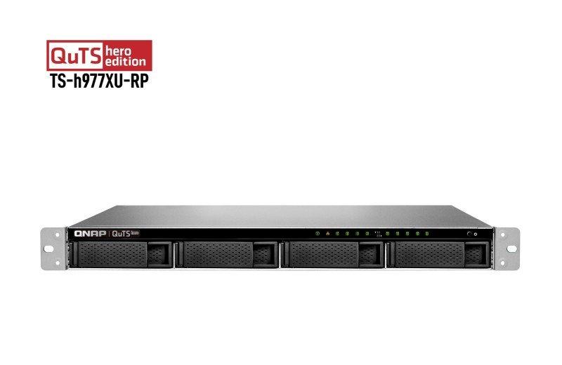 QNAP TS-h977XU-RP-3700X-32G 9 Bay Rack Enclosure with 32GB RAM