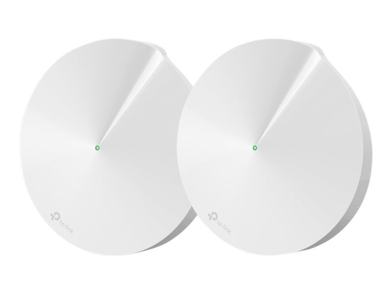 TP-Link Deco M9 Plus - Wi-Fi system - Bluetooth 4.2,ZigBee Home Automation 1.2 - desktop - 2 PACK