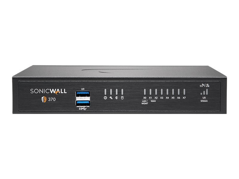 SonicWall TZ370 - Essential Edition - Security Appliance