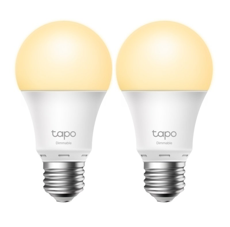 TP Link Tapo Smart Wi-Fi Light Bulb Dimmable L510E (2 Pack)