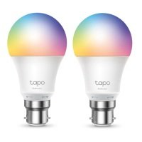TP-Link Tapo L530B Multicolour Smart Wi-Fi B22 Light Bulb (2 Pack)  - Works with Alexa and Google Assistant