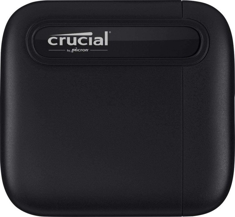 Crucial® X6 4TB Portable SSD - up to 800MB/s - USB 3.2 Gen 2