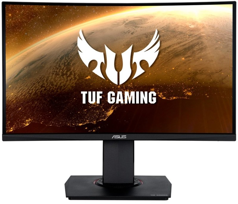 "Image of ASUS TUF VG24VQ 23.6"" Full HD 144Hz 1ms Curved Gaming Monitor"
