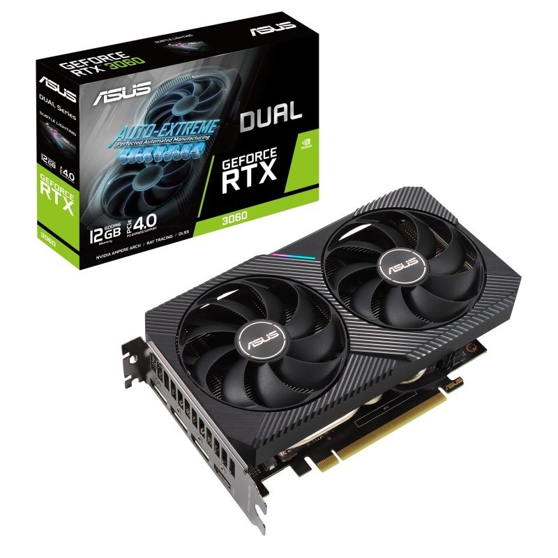ASUS GeForce RTX 3060 12GB DUAL Ampere Graphics Card
