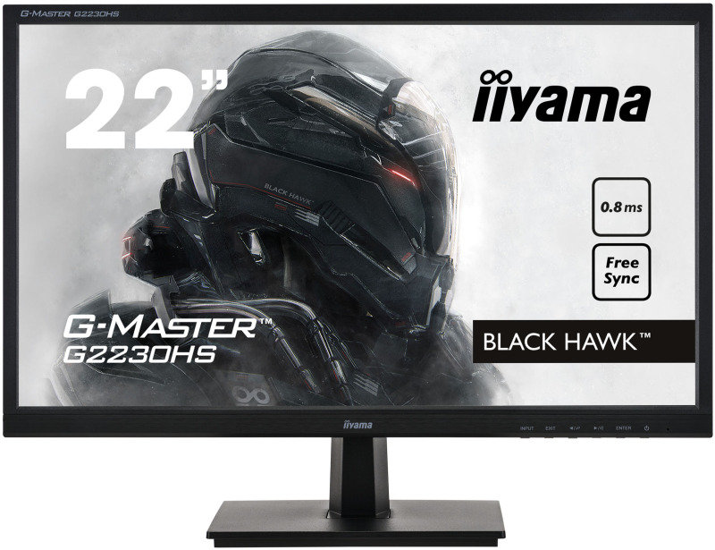 "Image of Iiyama G-MASTER G2230HS-B1 21.5"" Full HD 0.8ms Gaming Monitor"