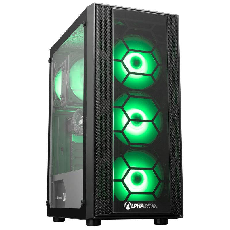 AlphaSync RTX 3060 Core i5 16GB RAM 1TB HDD 240GB SSD Gaming Desktop PC
