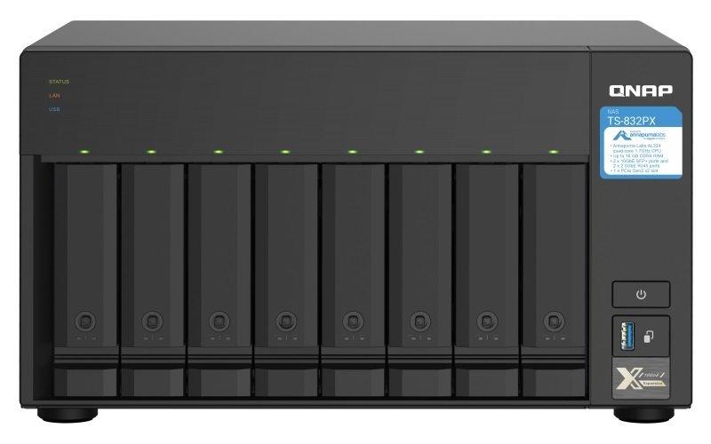 QNAP TS-832PX-4G 8 Bay Desktop NAS Enclosure