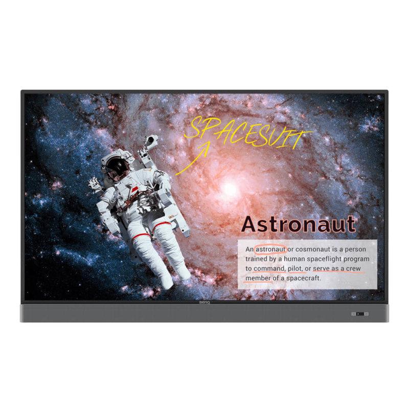 BenQ 9H.F5STC.DE4 - 65'' RM6502K Interactive Display - LCD 4K Ultra HD - Touchscreen