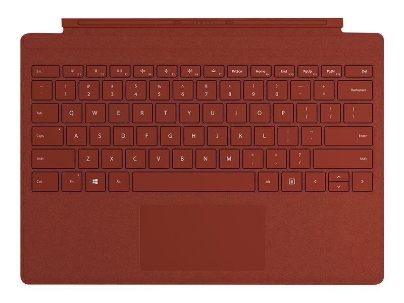 Microsoft Surface Pro Signa Type Cover Poppy Red