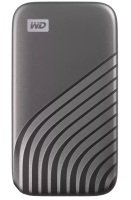 WD 4TB My Passport SSD - Portable SSD, up to 1050MB/s Read and 1000MB/s Write Speeds, USB 3.2 Gen 2 - Space Gray