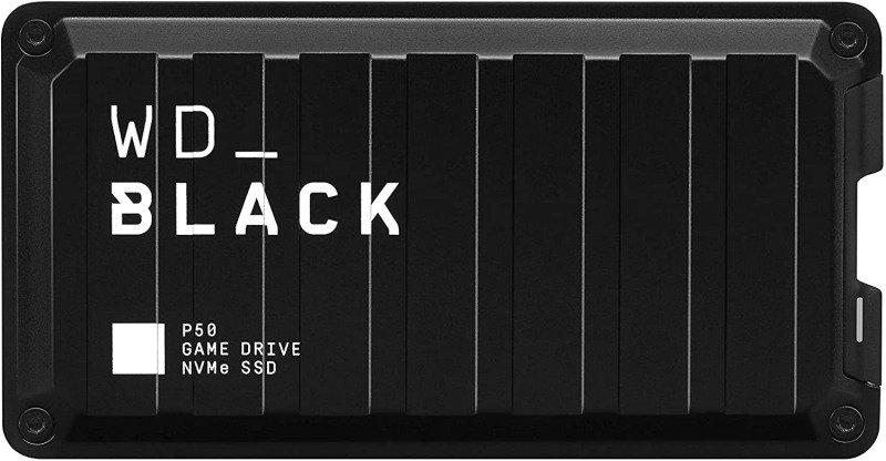 WD_BLACK 1TB P50 Game Drive SSD - up to 2000MB/s read speed, USB 3.2 Gen 2x2
