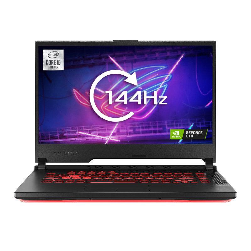 """ASUS ROG STRIX G15 Core i5 8GB 512GB SSD GTX 1650Ti 15.6"""" 144Hz No OS Gaming Laptop"""