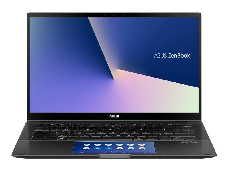 "Image of ASUS ZenBook Flip UX463 Intel Core i7-10510U 8GB RAM 512GB SSD NVIDIA GeForce MX250 14"" IPS Full HD Touchscreen Windows 10 Home Convertible Laptop - UX463FL-AI096T"