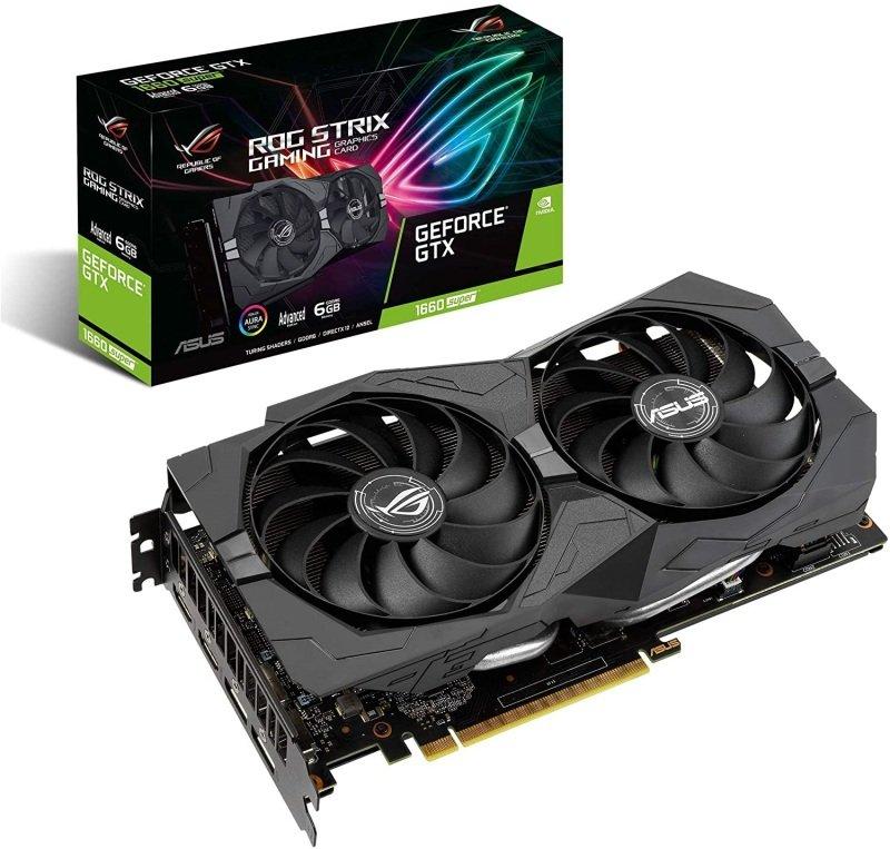 ASUS GeForce GTX ROG STRIX Advanced 1660 SUPER Graphics Card