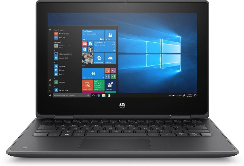 "hp probook x360 g5 pentiums 4gb 128gb ssd 11.6"" win10 pro 2-in-1 touchscreen laptop"