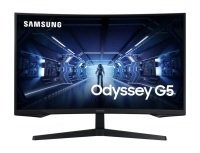 "Samsung Odyssey G5 32"" WQHD Gaming Monitor with 1000R curved screen"