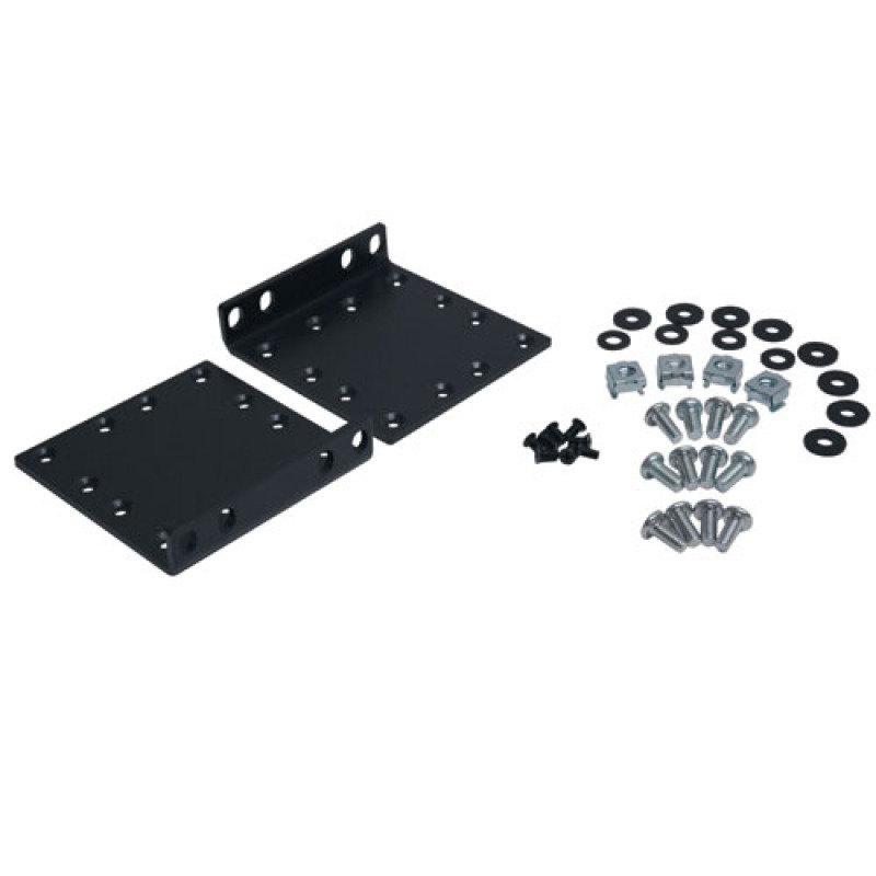 EXDISPLAY Heavy-Duty 2-post Front Mounting Ear Kit