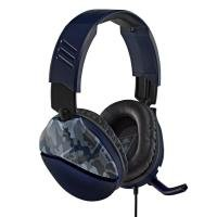 Turtle Beach Recon 70 Gaming Headset, Blue Camo