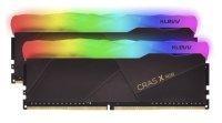 KLEVV 16GB Kit (2X8GB) CRAS X RGB GAMING DDR4 3600MHZ PC4-28800 1.35V CL18