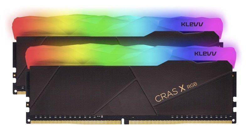 Klevv 16GB Kit (2X8GB) Cras X Rgb Gaming DDR4 3600MHZ PC4-28800 1.35V
