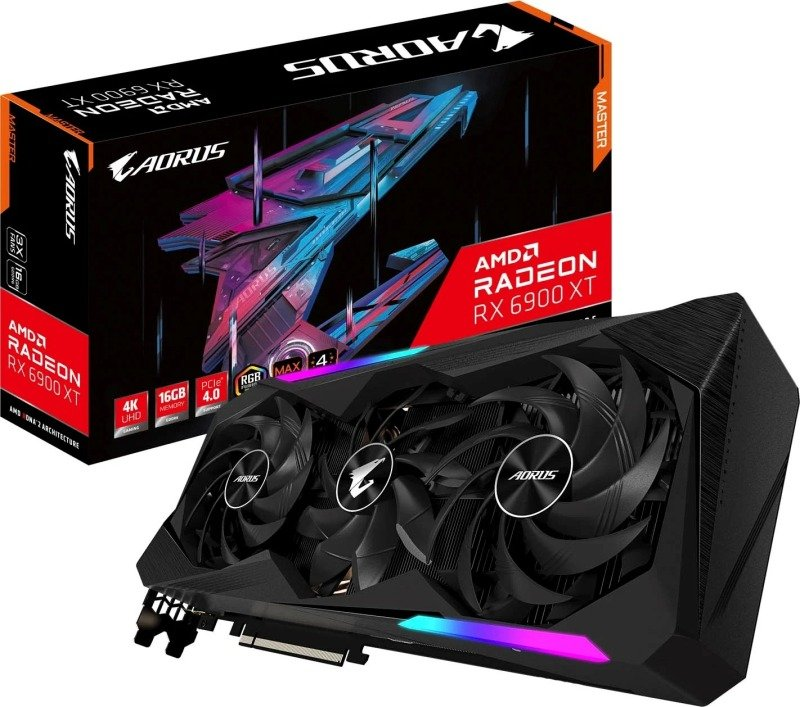 Gigabyte Radeon RX 6900XT 16GB AORUS MASTER Graphics Card