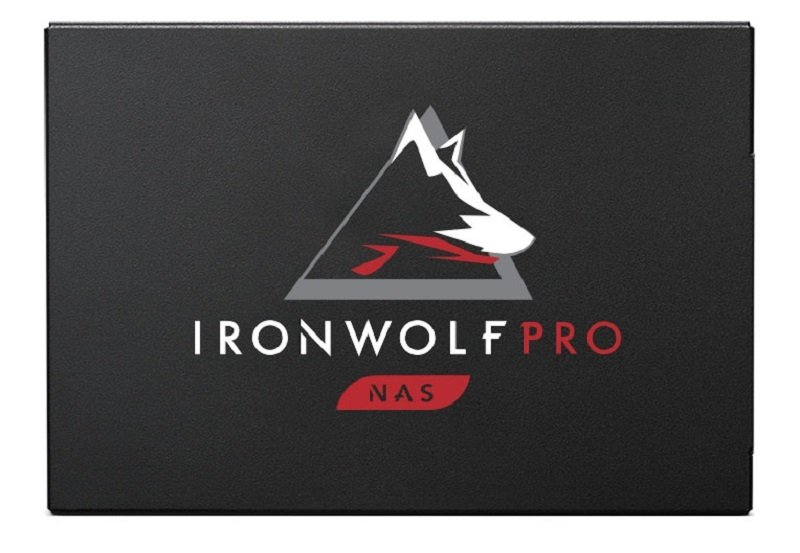 "Seagate 3.84TB IronWolf Pro 125 NAS SSD SATA 2.5"""