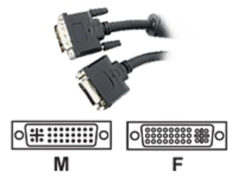 Startech Dual Link Digital Flat Panel Cable 1.83m Black