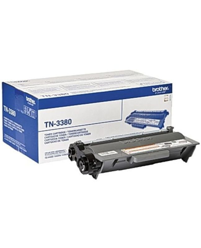 EXDISPLAY Brother TN-3380 Black Toner Cartridge - 8000 Pages