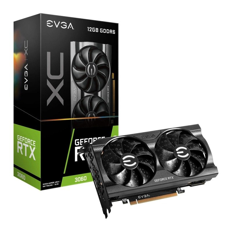 EVGA GeForce RTX 3060 12GB XC GAMING Ampere Graphics Card