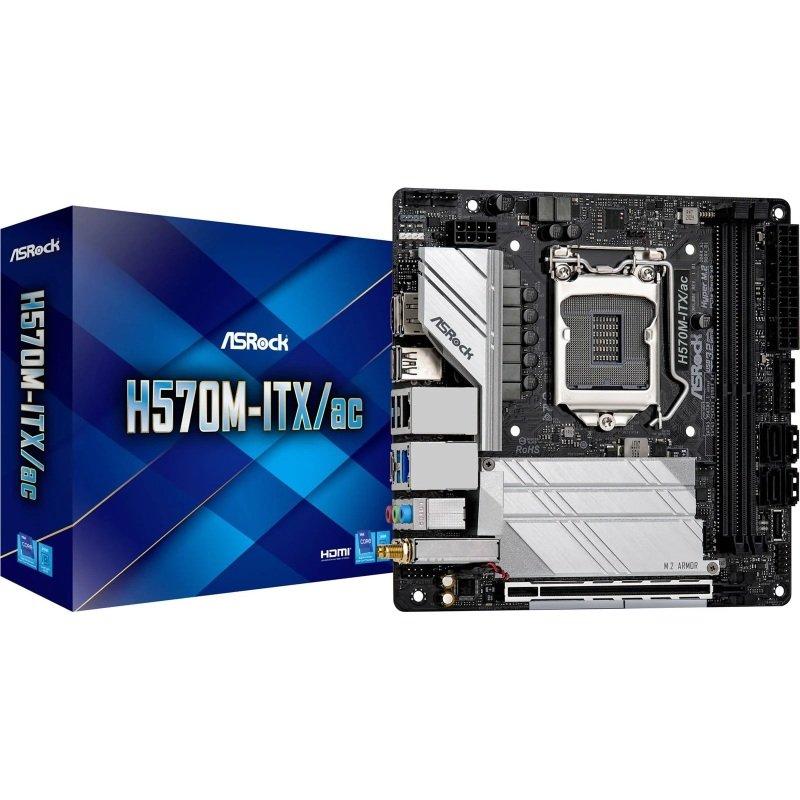 ASRock H570M-ITX/ac mITX Motherboard