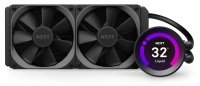 """NZXT Kraken Z53, 240mm All-In-One Hydro CPU Cooler with 2.36"""" LCD Display, 2x 120mm PWM Fans, CAM Control, Intel/AMD"""