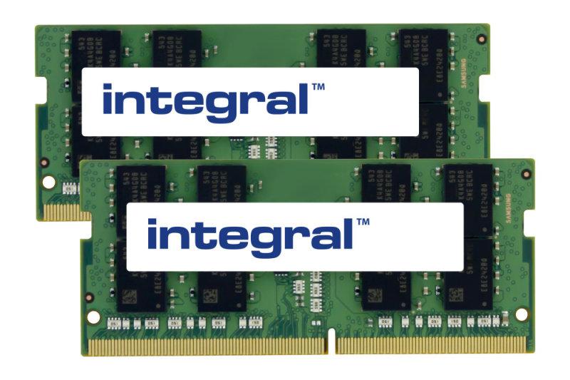 Integral 16GB Kit (2 x 8GB) DDR4 3200MHz PC4-25600 1.2V CL22 Sodimm
