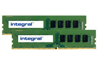 Integral 16GB Kit (2 x 8GB) DDR4 2666MHz PC4-21300 1.2V CL19 UDIMM