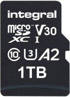 Integral 1TB microSD UHS-1 U3 V30 A2 Read 180MBs /Write 150MBs