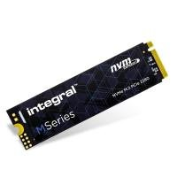 Integral 1TB M Series M.2 2280 PCIe NVMe SSD - Seq. Read 2000MBs/Write 1600MBs